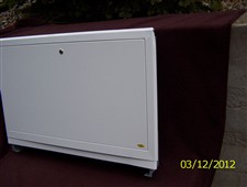 Skříň pro rozdělovače podlahového topení