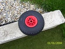 Náhradní kolečko pro vozíky pro zahradní traktůrky